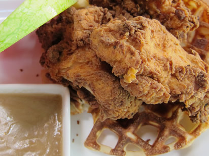 Noshwell Five Places To Score Chicken And Waffles In Vancouver
