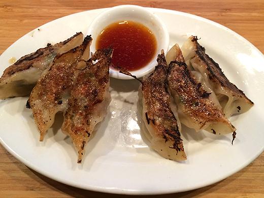 Pork Gyoza ($6)