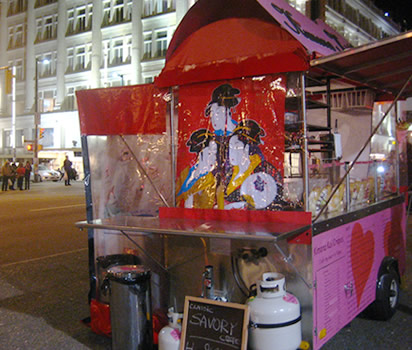 Crepe Food Carts http://www.noshwell.com/food-cart/kimono-koi-crepes