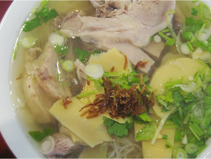 duck pho as you can see the duck and the noodle soup arrive duck pho ...