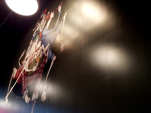 The decor is a confusing mix of eclectic, modern, sports bar, with a dash of urban street art.